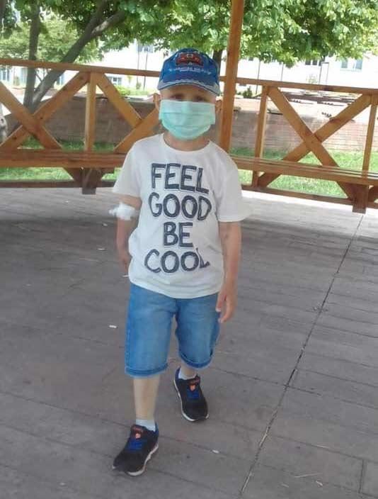 Trabzonlu minik Eymen bayramlıklarını giyemedi...