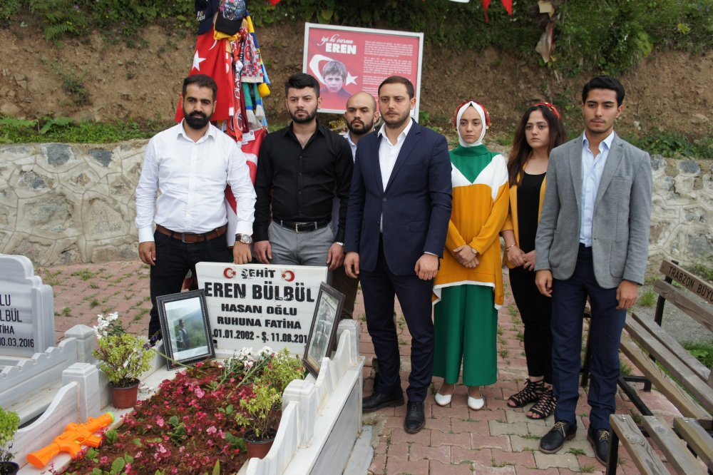 Eren'in şehit düştüğü yerdeki toprak Bursa'da fidan yetiştirecek