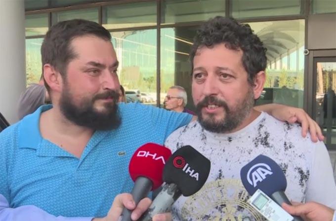 Nijerya'da kaçırılan Türk denizciler Türkiye'ye geldi - Trabzon'a gelecek