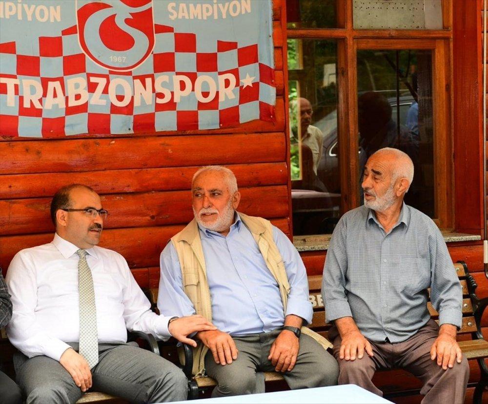 Vali Ustaoğlu Çamlıktepe'de