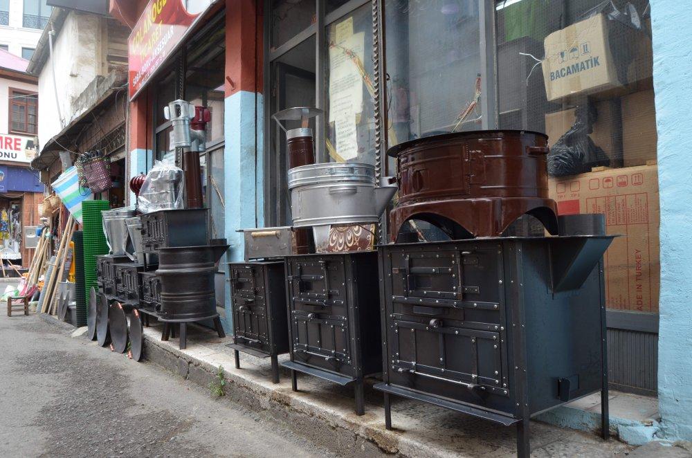 Trabzon'da bu sobalar en çok yazın satılıyor