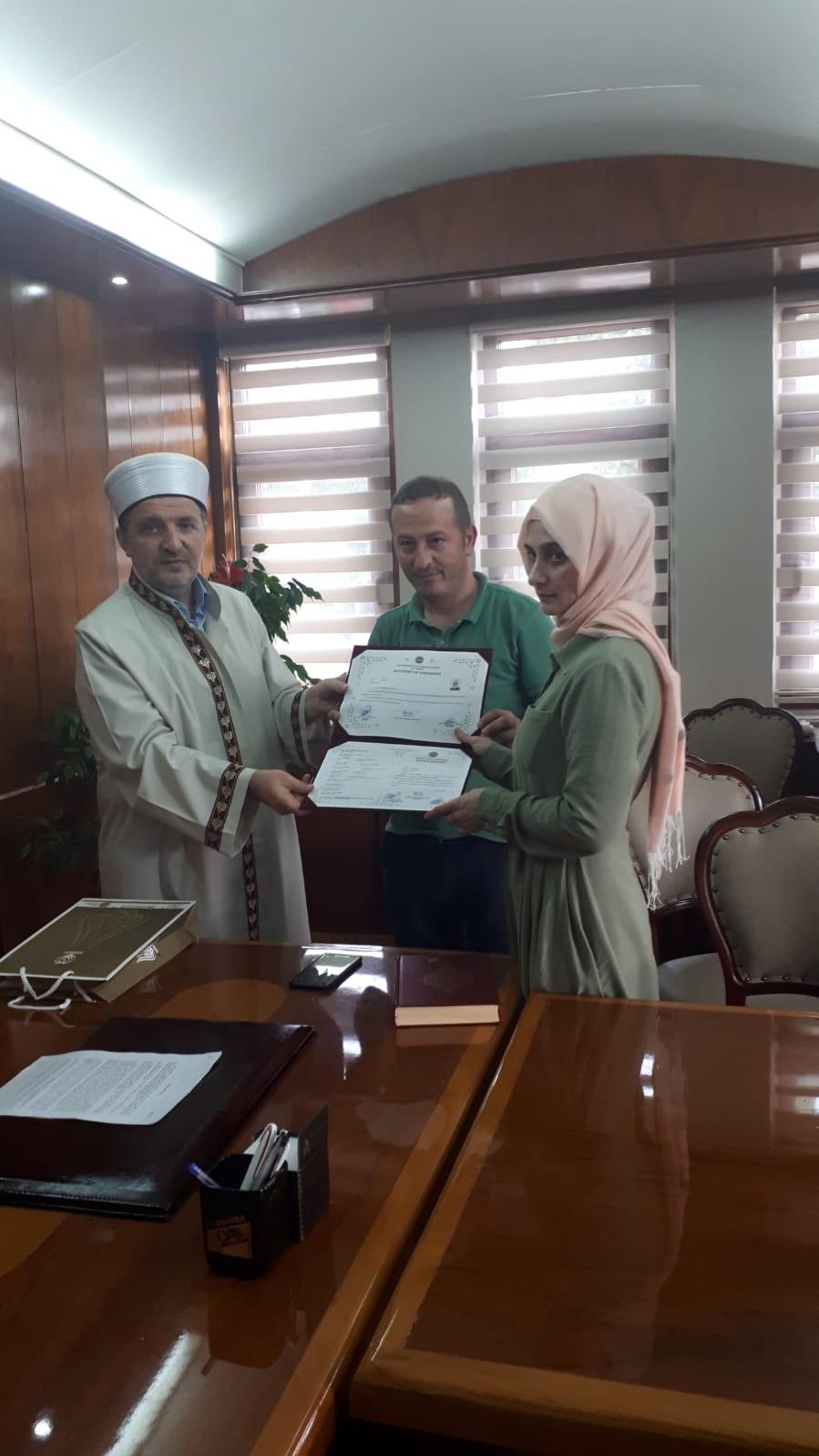 Osetyalı gelin Müslüman oldu Trabzon'da evlendi