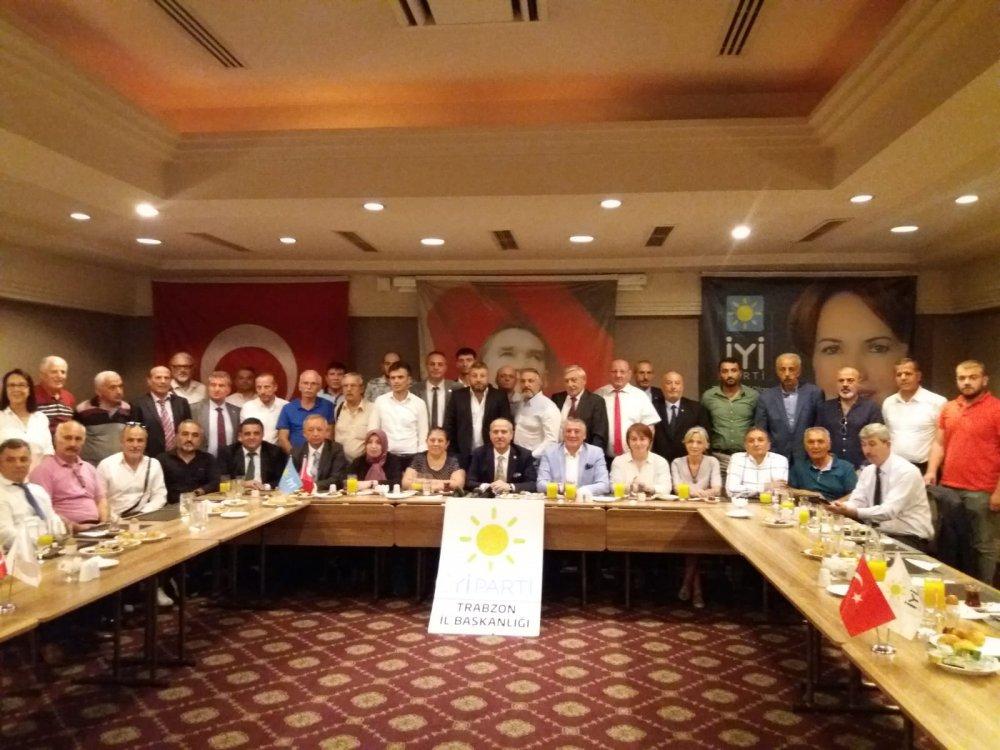 İYİ Parti Trabzon'da yeni yönetim belli oldu
