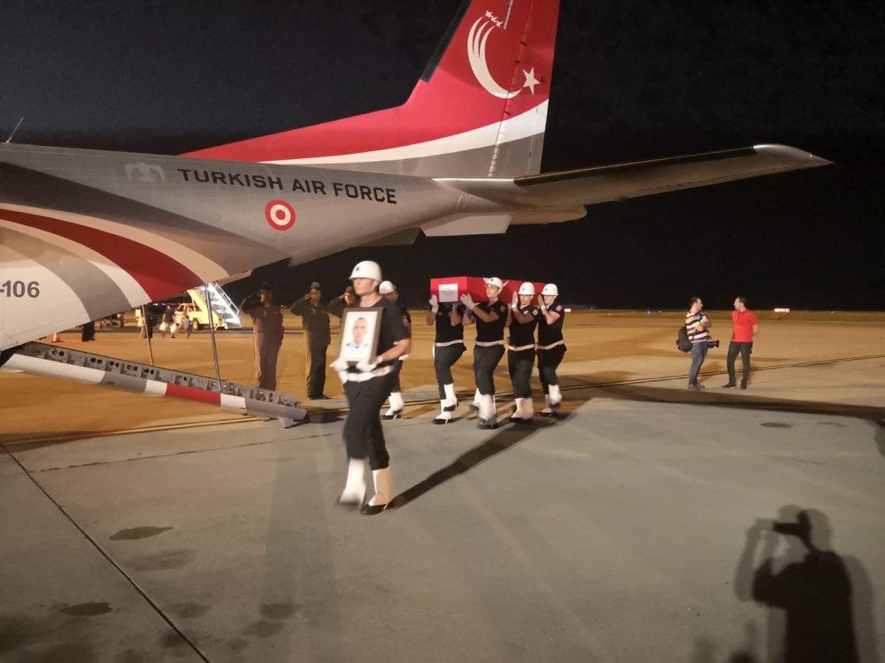 Trabzonlu Şehit Akın Çelebi memleketine geldi