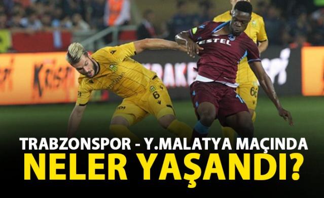 Trabzonspor Malatya'yı devirdi