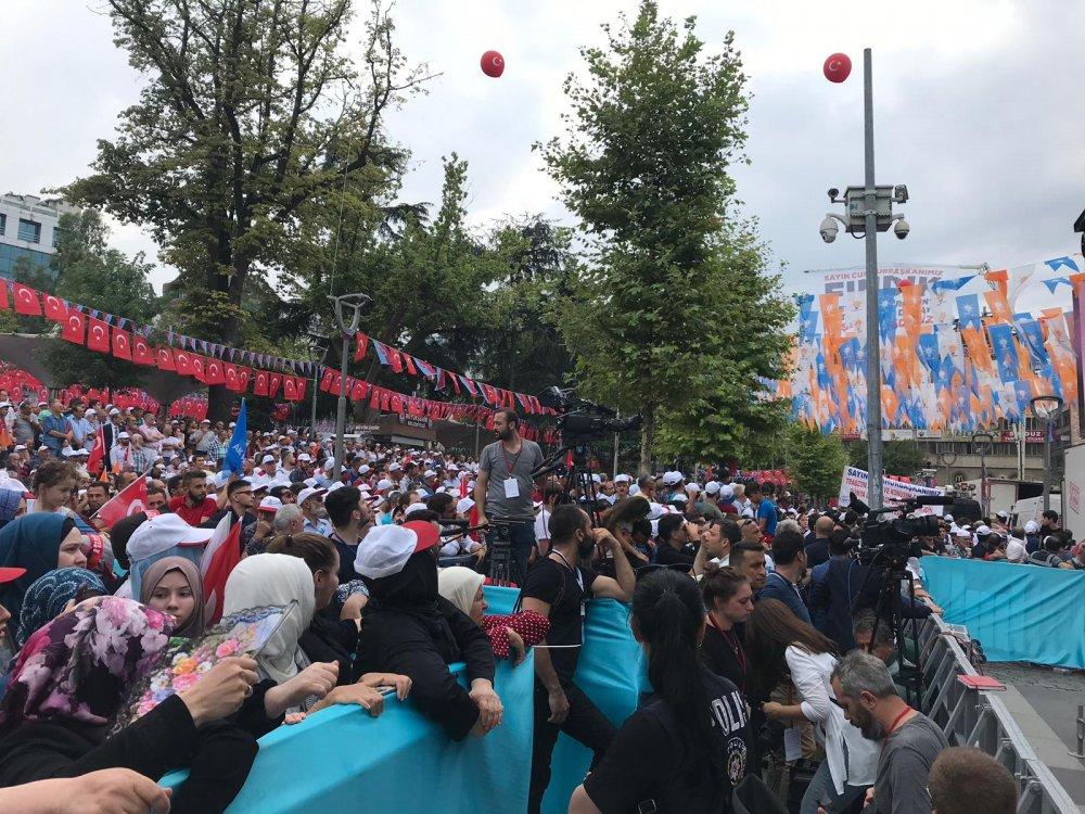 Cumhurbaşkanı Erdoğan Trabzon'da