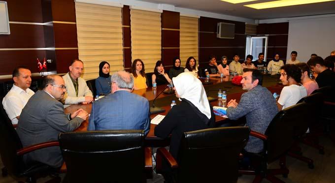 Trabzon'da ilk bine girdiler - Vali Ustaoğlu'nu ziyaret ettiler