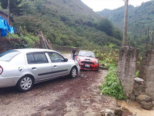 Giresun'da iki kaza: 4 yaralı