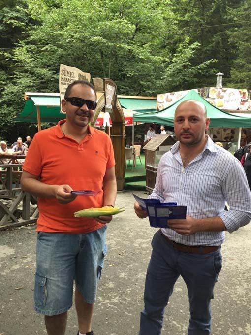 Trabzon turizmine Whatsapp'lı koruma