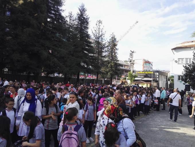 Trabzon'da okul heyecanı başladı