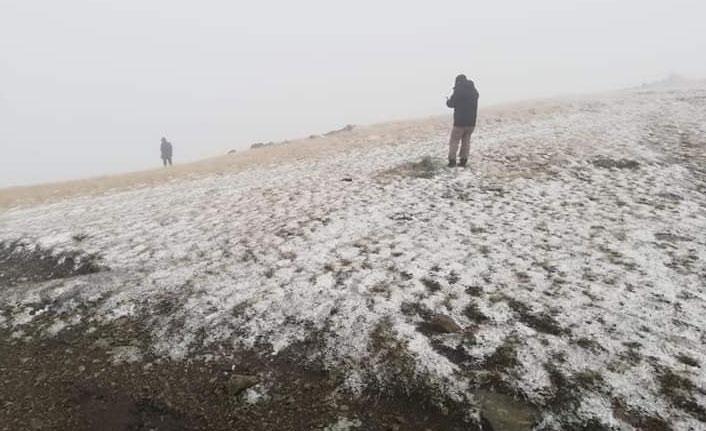 Doğu Karadeniz'e kar düştü