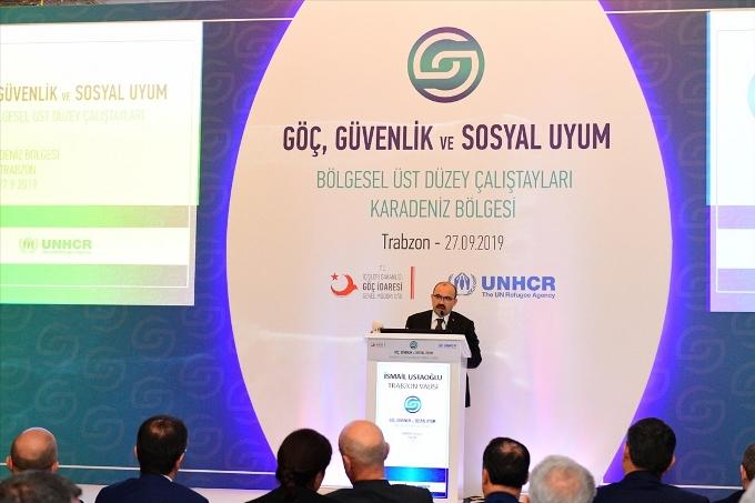Trabzon'da Göç, Güvenlik ve Sosyal Uyum Çalıştayı yapıldı