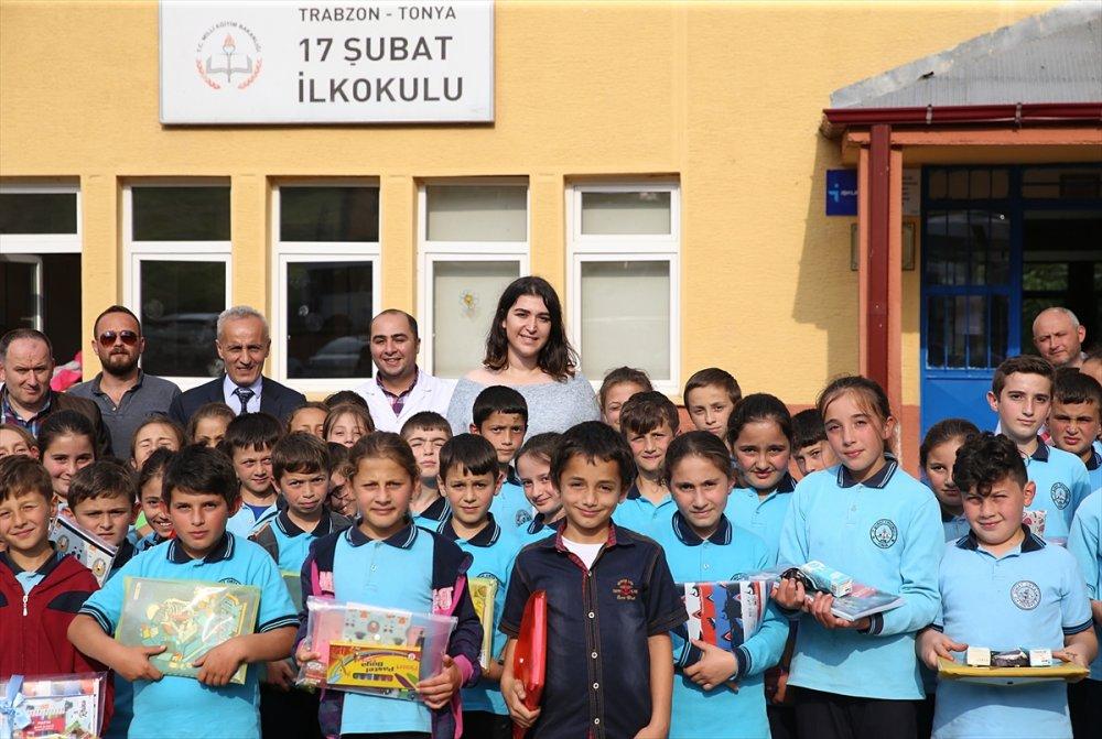 Trabzon'da Üniversiteli Hasret, 3 bin çocuğun yüzünü güldürdü
