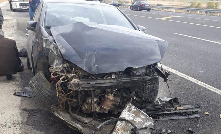 Erzurum yolunda kaza: 3 yaralı