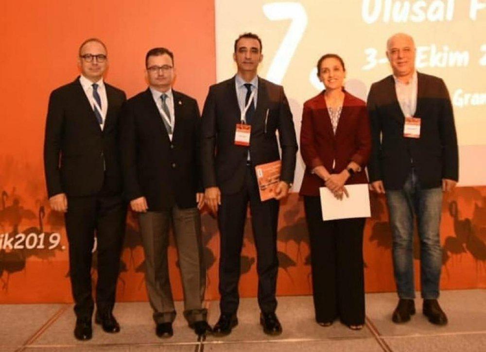 Trabzon'daki iki doktora ödül