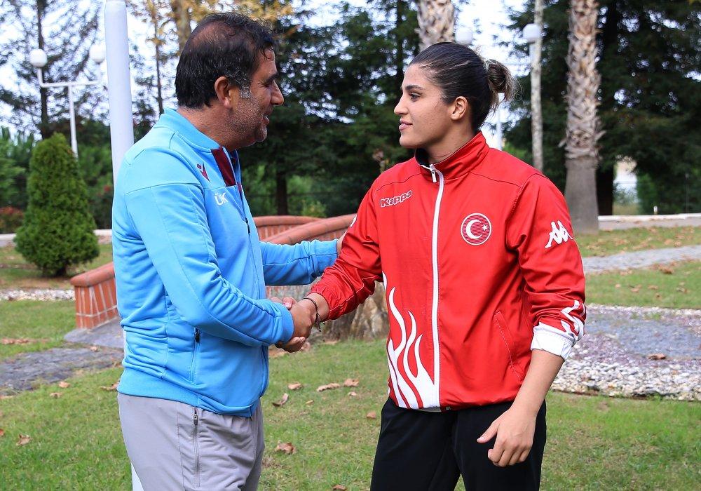 Karaman Busenaz'la görüştü - Olimpiyat vurgusu