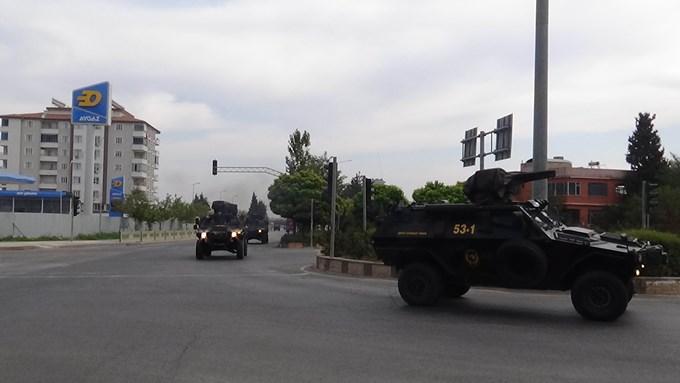 Trabzon'dan yola çıkan PÖH'ler sınırda