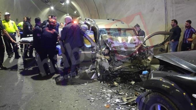 Trabzon'da İnanılmaz kaza