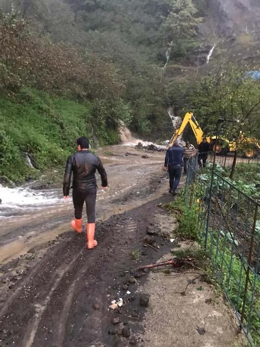 Giresun'u yağmur vurdu - 1 Kayıp