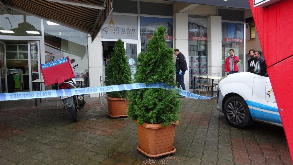 Trabzon'da dayı yeğen kavgasında kan aktı!