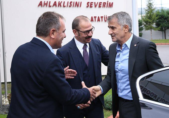 Şenol Güneş'ten Trabzonspor'a ziyaret