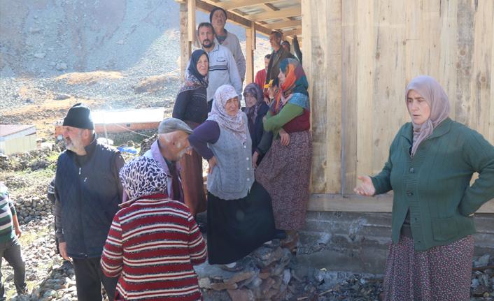 Anzer Yaylası'ndaki yıkım krizinde yeni gelişme!