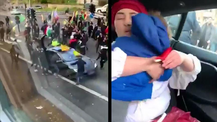 PKK yandaşları Norveç'te Türk aileye saldırdı!