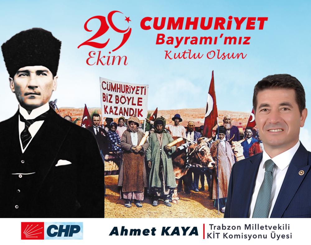 """Ahmet Kaya: """"Cumhuriyetimiz çağdaş medeniyetler hedefine doğru yürümektedir"""""""