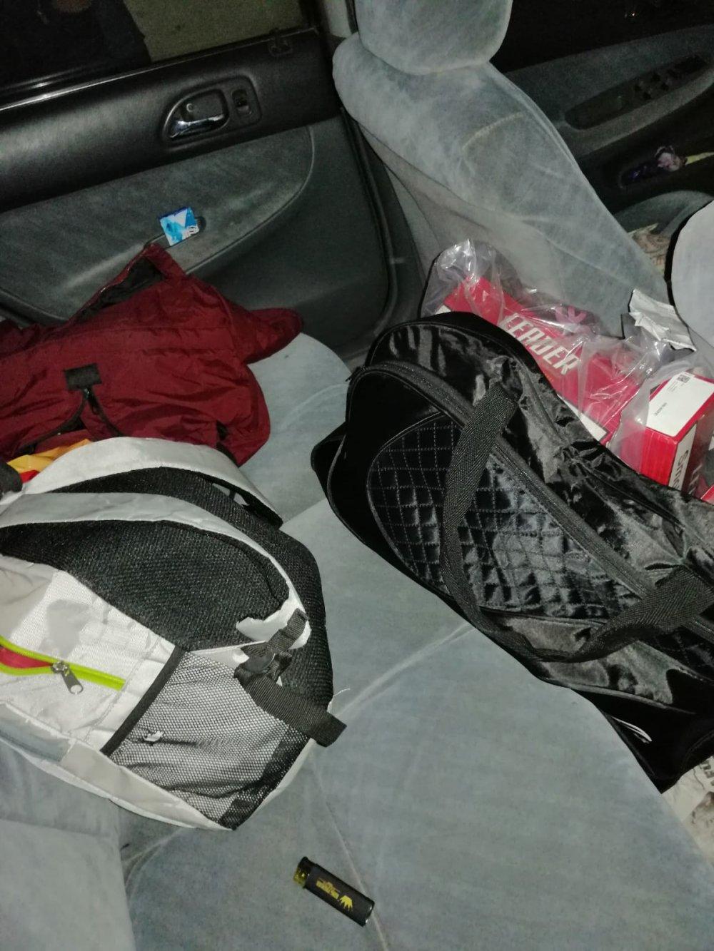 Trabzon'da polisten kaçamadı - Durdurulan araçtan bakın neler çıktı