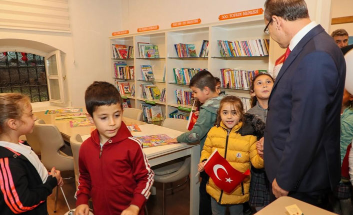Ordu'da çocuk kütüphanesi açıldı