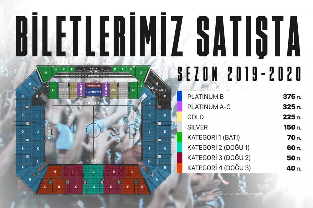 Trabzonspor Alanyaspor maç biletleri satışa sunuldu