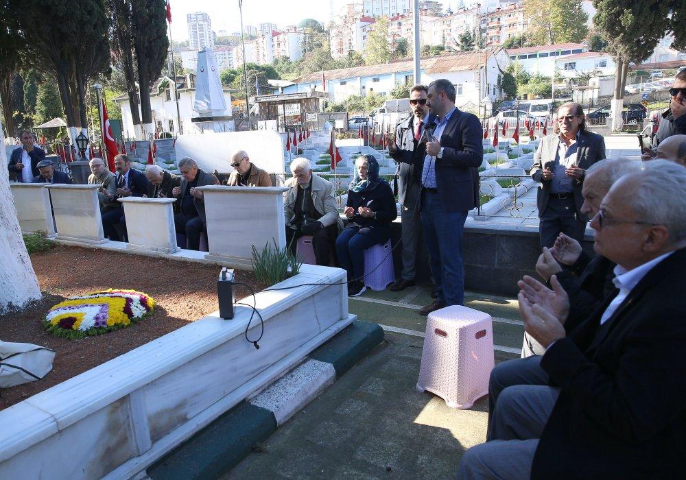 Trabzonspor'un kurucusu Dedeoğlu unutulmadı.
