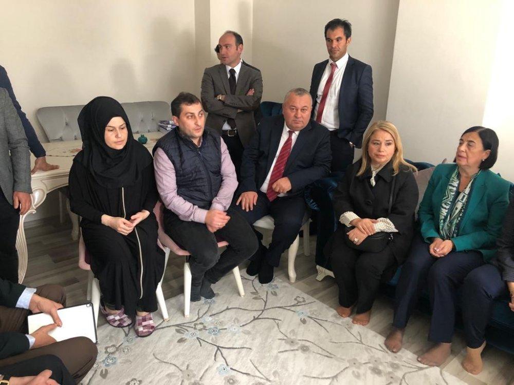 TBMM Komisyonu Rabia Naz'ın babası ile görüştü