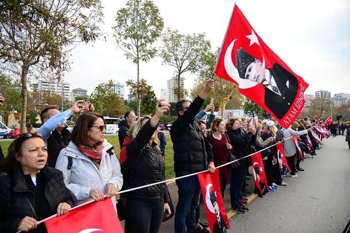 10 Kasım'da 'Ata'ya Saygı Zinciri'