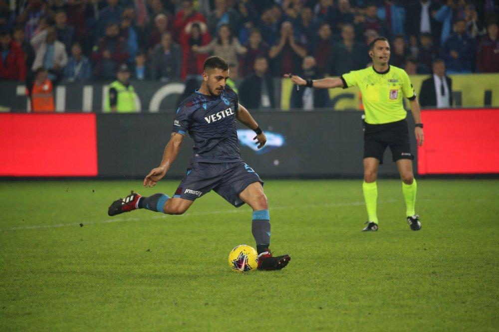 Trabzonspor Hosseini ile öne geçti