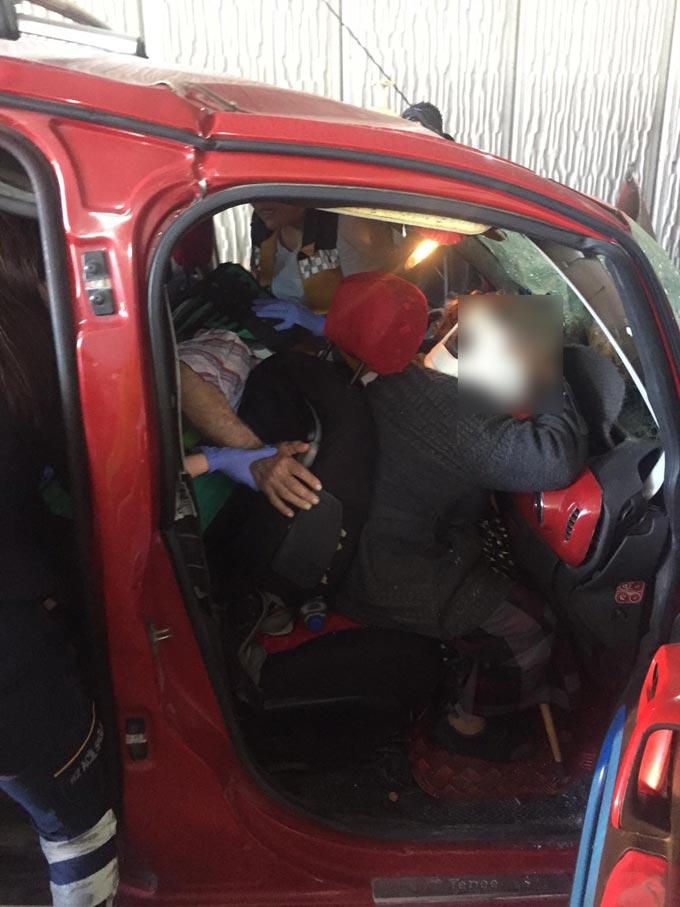 Trabzon'da 3 araç birbirine girdi – 3 yaralı