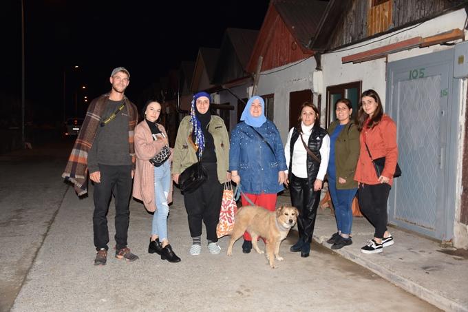 28 bin kilometre yürüdü 42 ülke gezdi ve Trabzon'a geldi