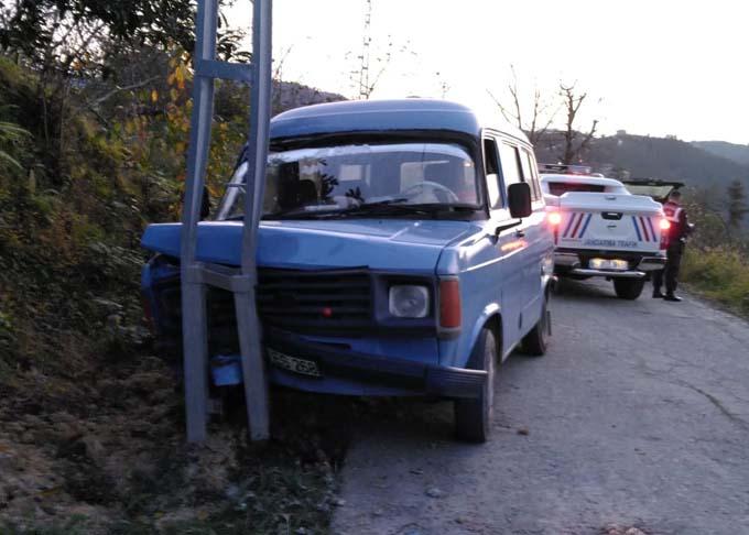 Giresun'da iki kazada 5 yaralı