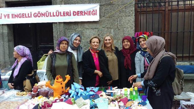 Trabzon'da Hayatlarını engellilere adadılar