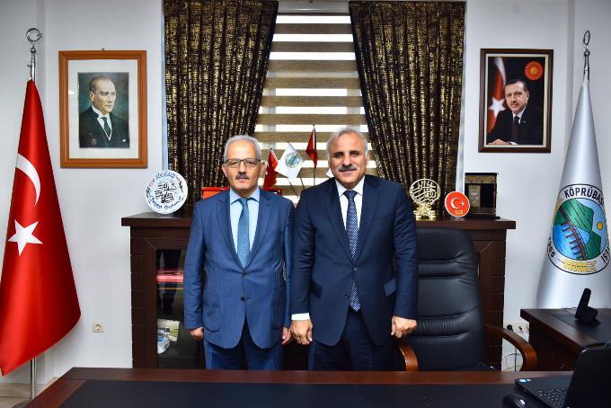 """Başkan Zorluoğlu, Köprübaşı'da! """"Ayrım yok"""""""