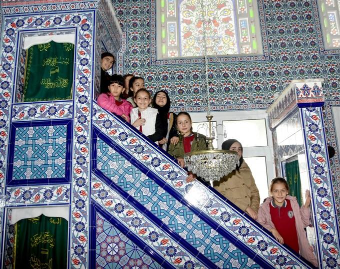 """Trabzon'da """"çocuk cami buluşmasi"""" etkinliği"""