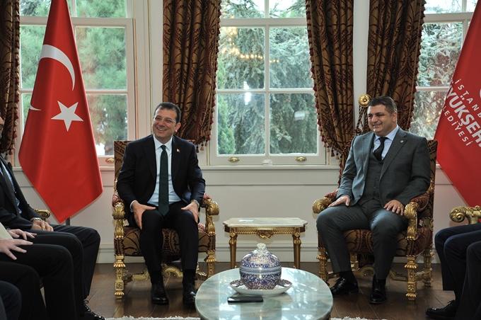 Ekrem İmamoğlu'na TÜGİAD'DAN ziyaret