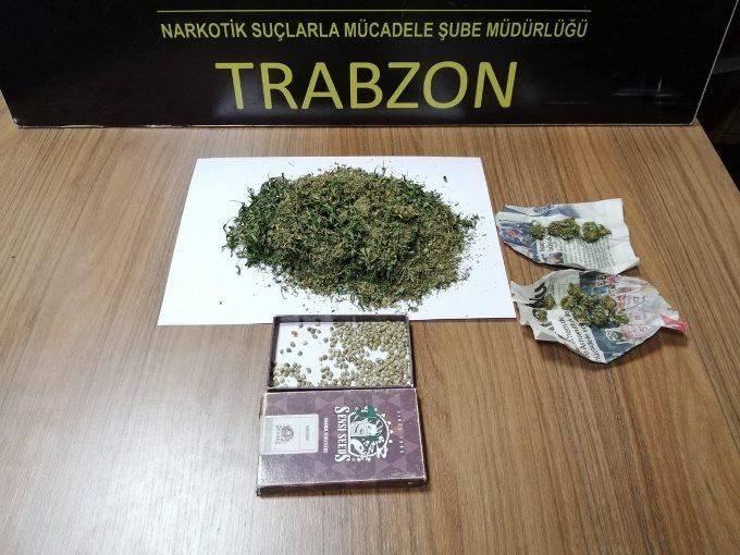 Trabzon'da Operasyon - Şüphe üzerine durdurdular bakın ne yakaladılar