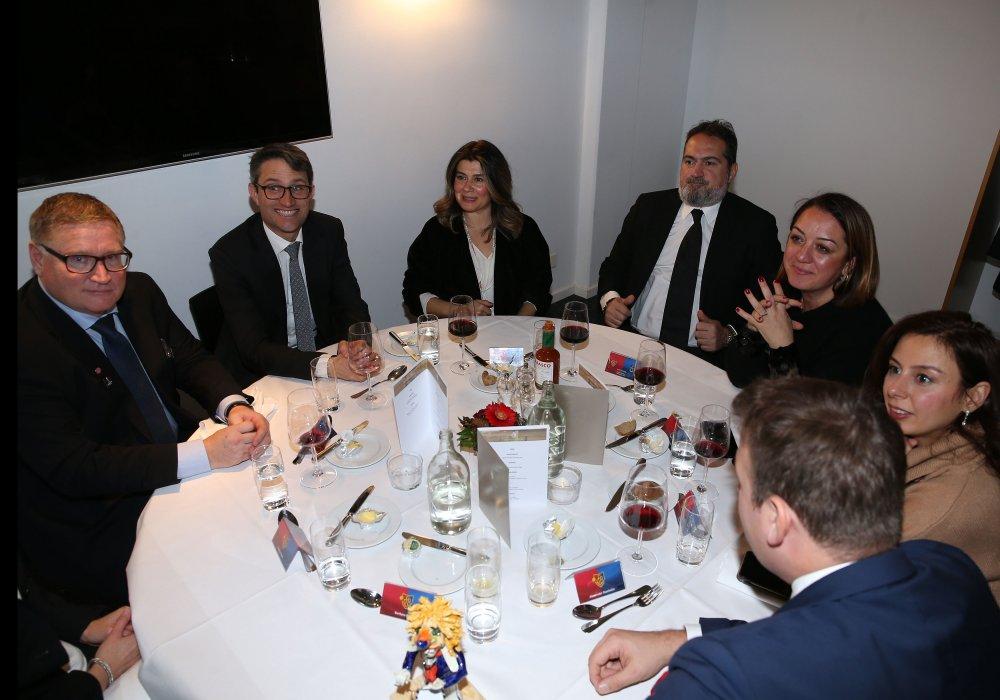 Basel'den Trabzonspor'a dostluk yemeği