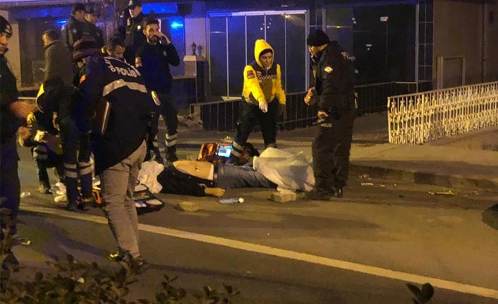 Başkent'te kıskançlık krizine giren polis kurşun yağdırdı