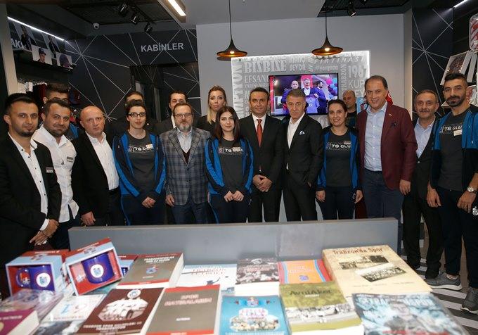 Trabzonspor yeni mağazasını açtı