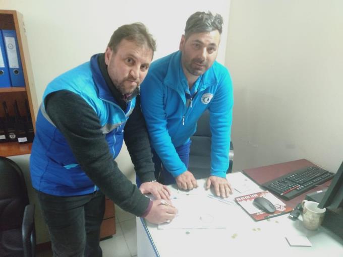 Trabzon'da çalışırken kanalda buldular - Polise teslim ettiler