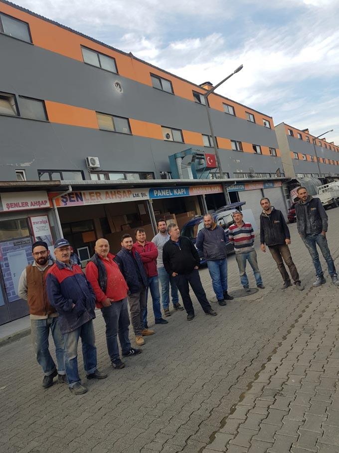 Trabzon'da Mobilyacılar Sitesinde elektrik kesintisi şikayeti
