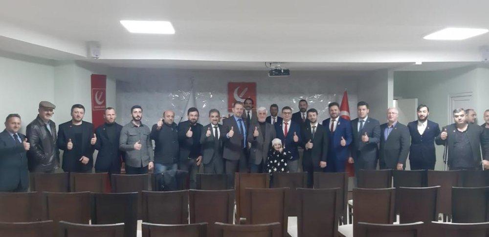 Yeniden Refah Partisi Ortahisar toplandı