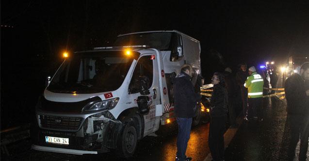 TEM'de tırın çarptığı oto kurtarıcı sürücüsü hayatını kaybetti